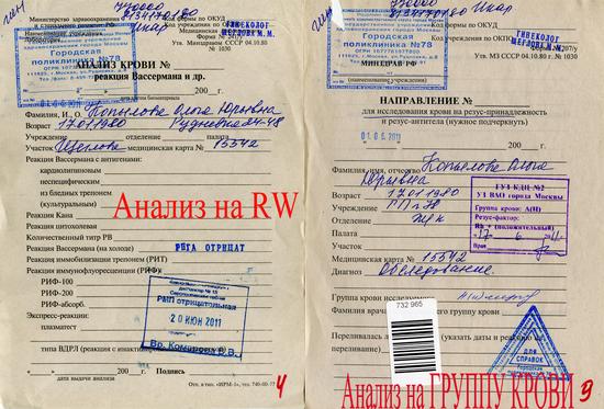 Анализ крови на rw натощак купить больничный лист в москве, больничный лист uto/ford/2