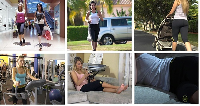 Повседневные дела и похудение с шортами
