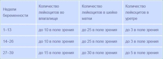 norma-leykotsitov-vlagalisha