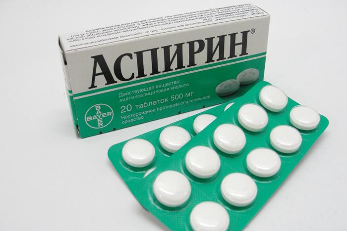 Аспирин применяется для разжижения крови
