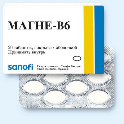 Препарат Магне-B6