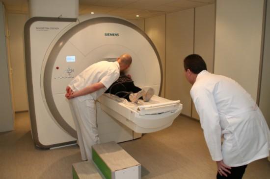 Проведение МРТ мозга