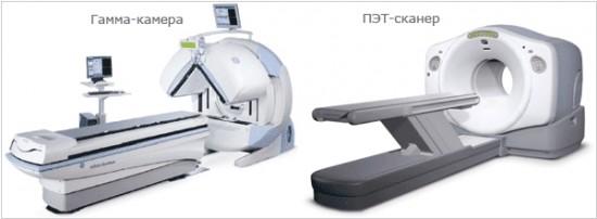 ПЭТ-сканер и гамма-камера