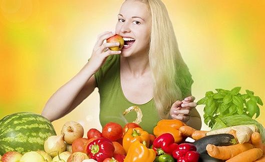 Овощи при бесшлаковой диете