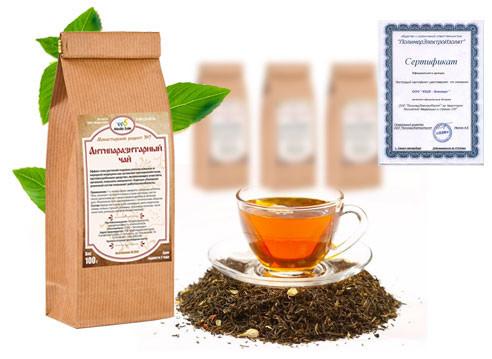 Монастырский чай с сертификатом качества