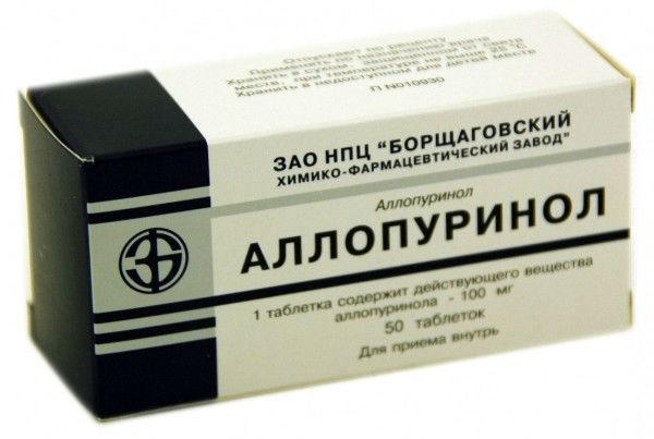 Препарат Аллопуринол