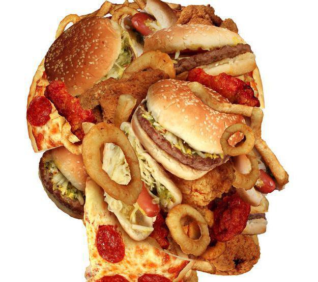 Неправильное питание - основа для многих заболеваний