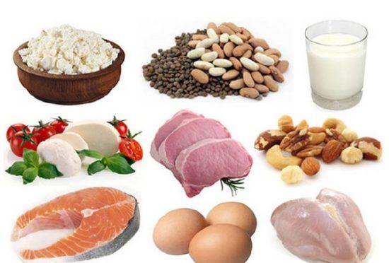Диета для повышения белка