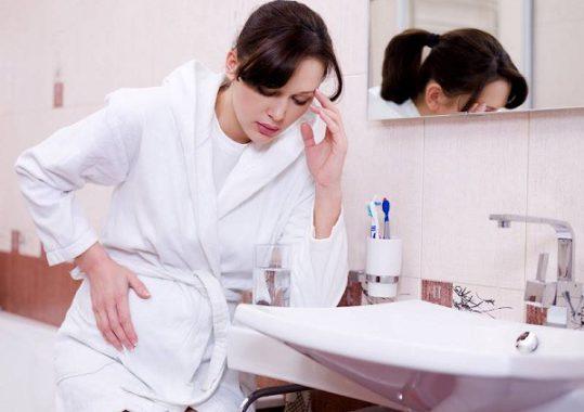 Токсикоз может быть причиной понижения гемоглобина