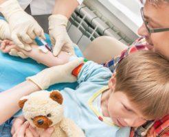 Соотношение видов лейкоцитов в лейкоцитарной формуле у детей
