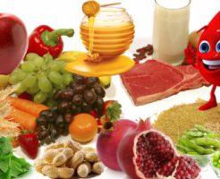 Рекомендации по питанию или что едят при низком гемоглобине?
