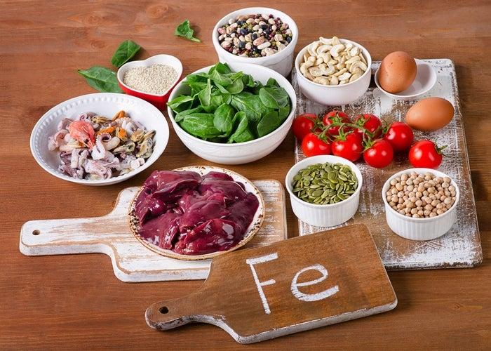 Alimentos-con-hierro фото