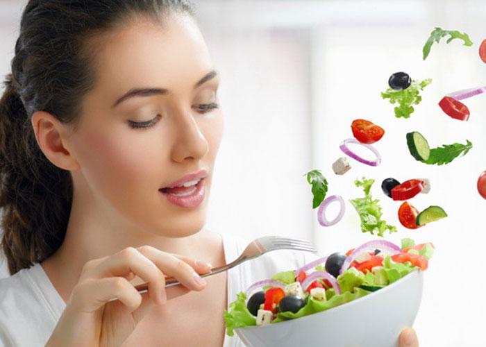 Овощной салат фото